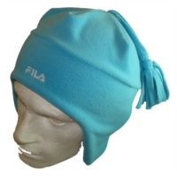 Fila Beanie Skull Hat - Light Blue - Size Medium